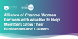Alliance of Channel Women Partners with wiseHer to Help Members Grow Their Businesses and Careers