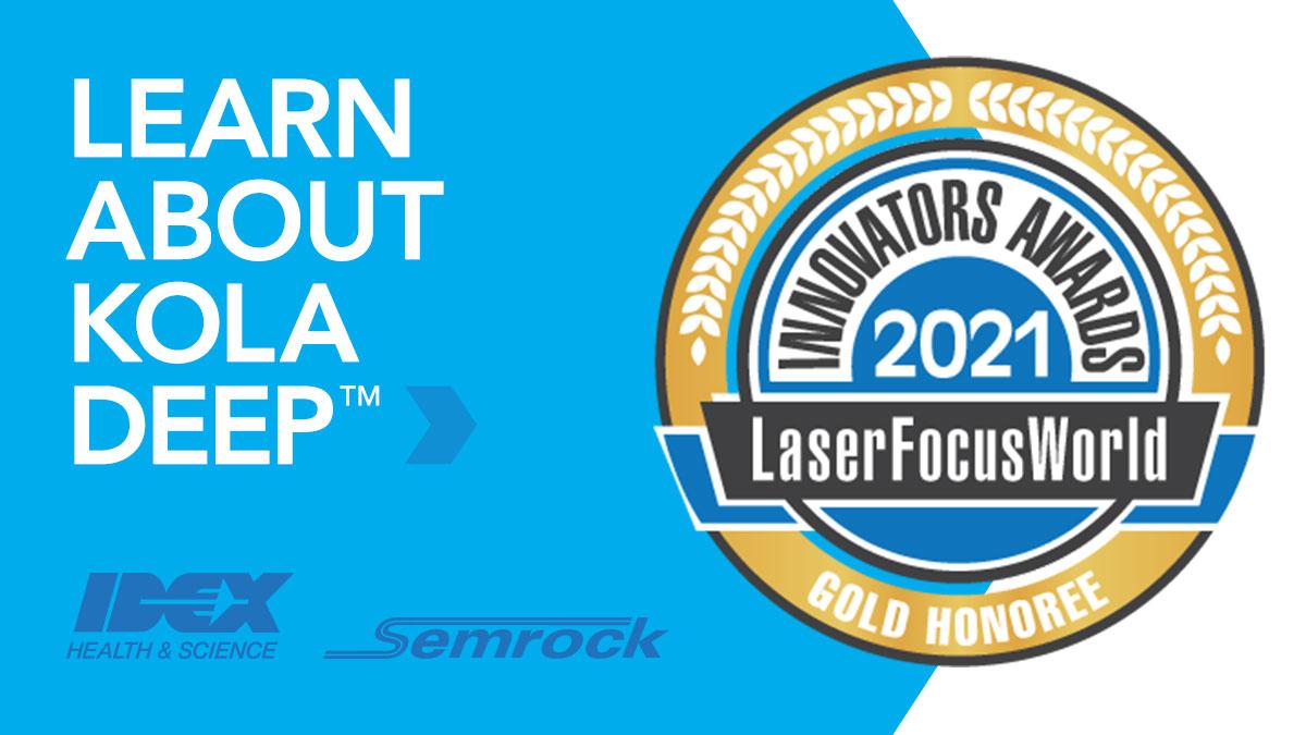 IDEX Health & Science Receives the 2021 Laser Focus World Innovators Award
