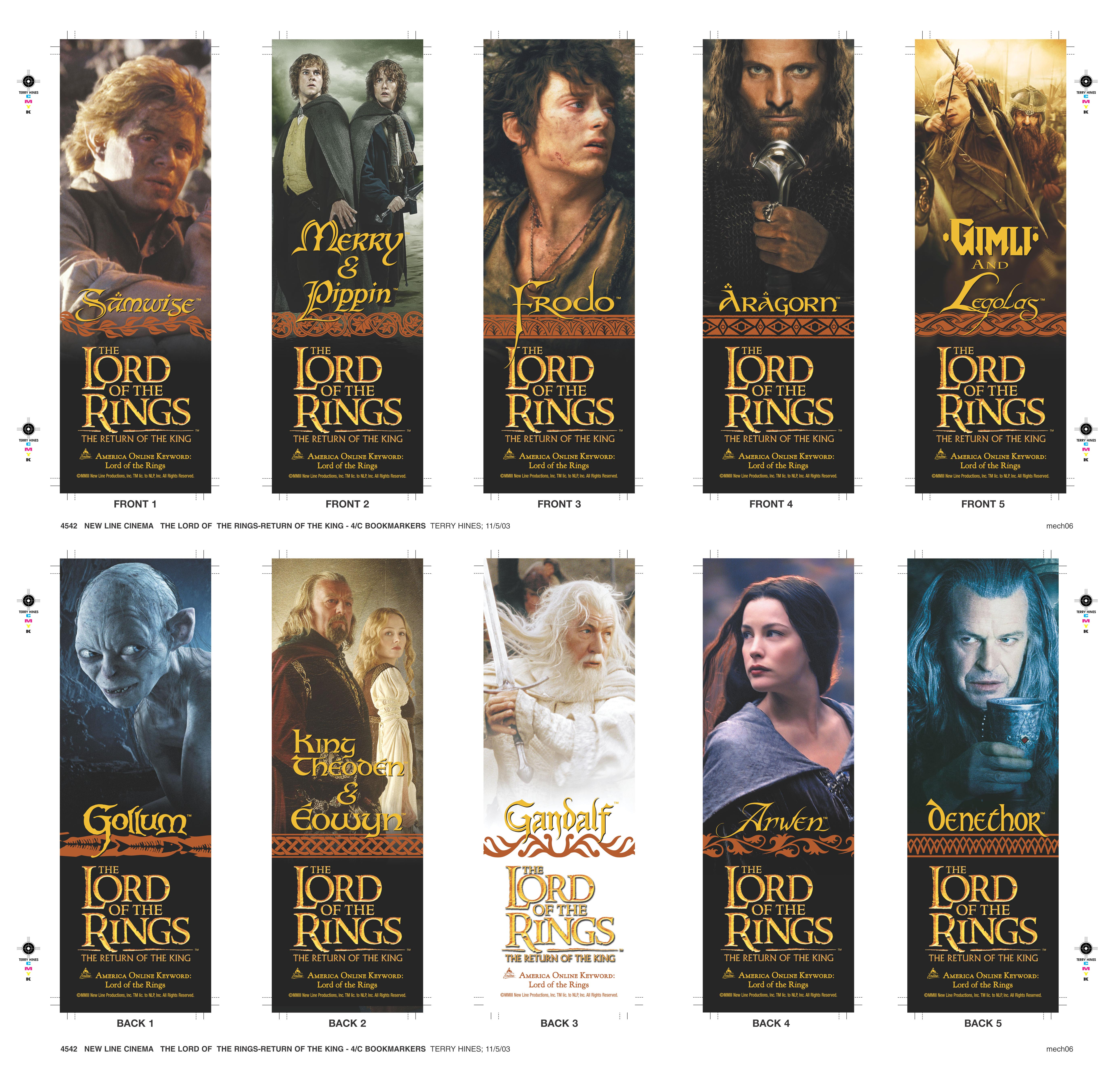 26 Million Lord of The Rings Bookmarks Help Deliver Youth ...