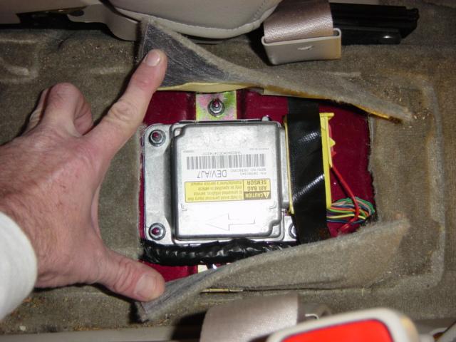 Airbag Air Bag Deployment Black Box Crash Data Retrieval