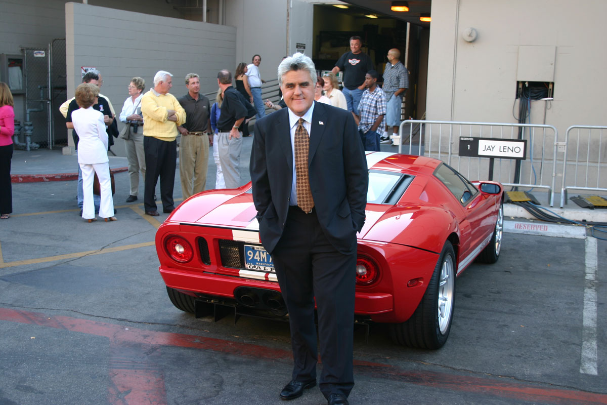 Jay Leno New Ford Gt Interview
