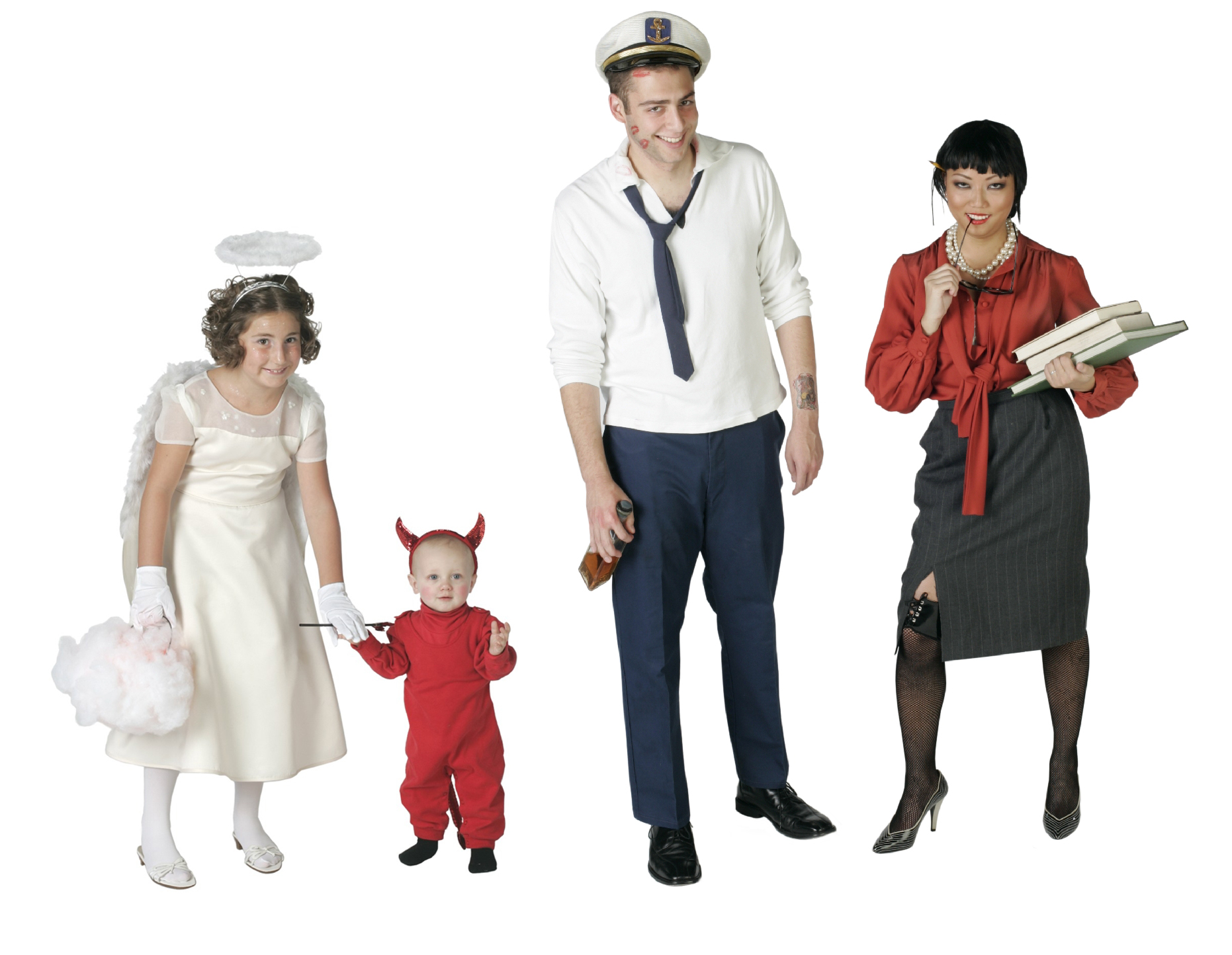 Pictured costumes include an angel ($25) little devil ($10) sailor in port ($25) and sexy librarian ($30).Inexpensive thrift store costumes  sc 1 st  PR Web & Savers® Survey Reveals WhatÂu0027s Hip for Halloween: Famous Characters ...