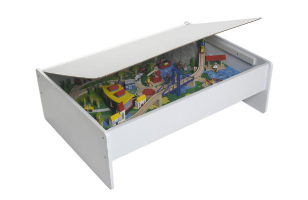 Double Decker Train Table Brings Play To A Whole New Level  sc 1 st  Table \u0026 Chair Sets & Outstanding Brio Train Set Table Images - Best Image Engine ...
