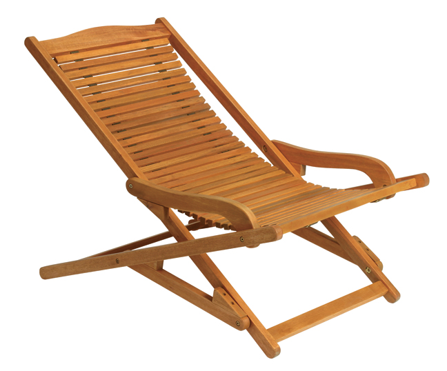 Bilbao Wood Deck Chair From CWINew For 2005, The Bilbao Wood Deck Chair  From CWI Is Skillfully Crafted In Naturally Handsome, Sustainably Harvested  ...