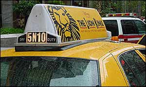 Billboard Taxi Media Inc  Launches Taxi Top Media Advertising on New