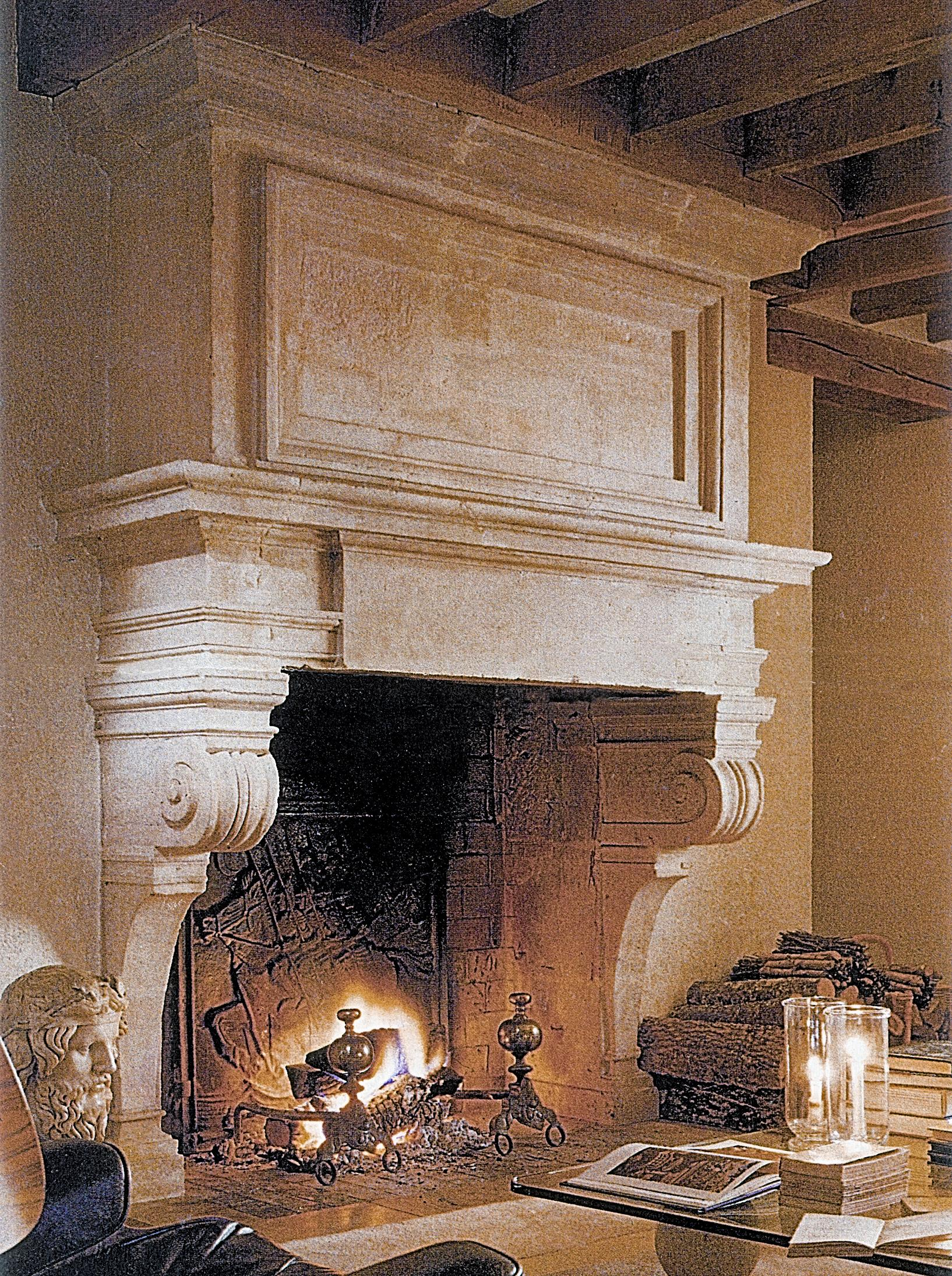 Stone age designs custom scagliola stone formula replaces - Stone fireplace surround ideas ...
