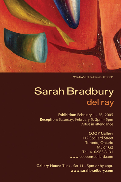 Del Ray Paintings By Sarah Bradbury On Show This