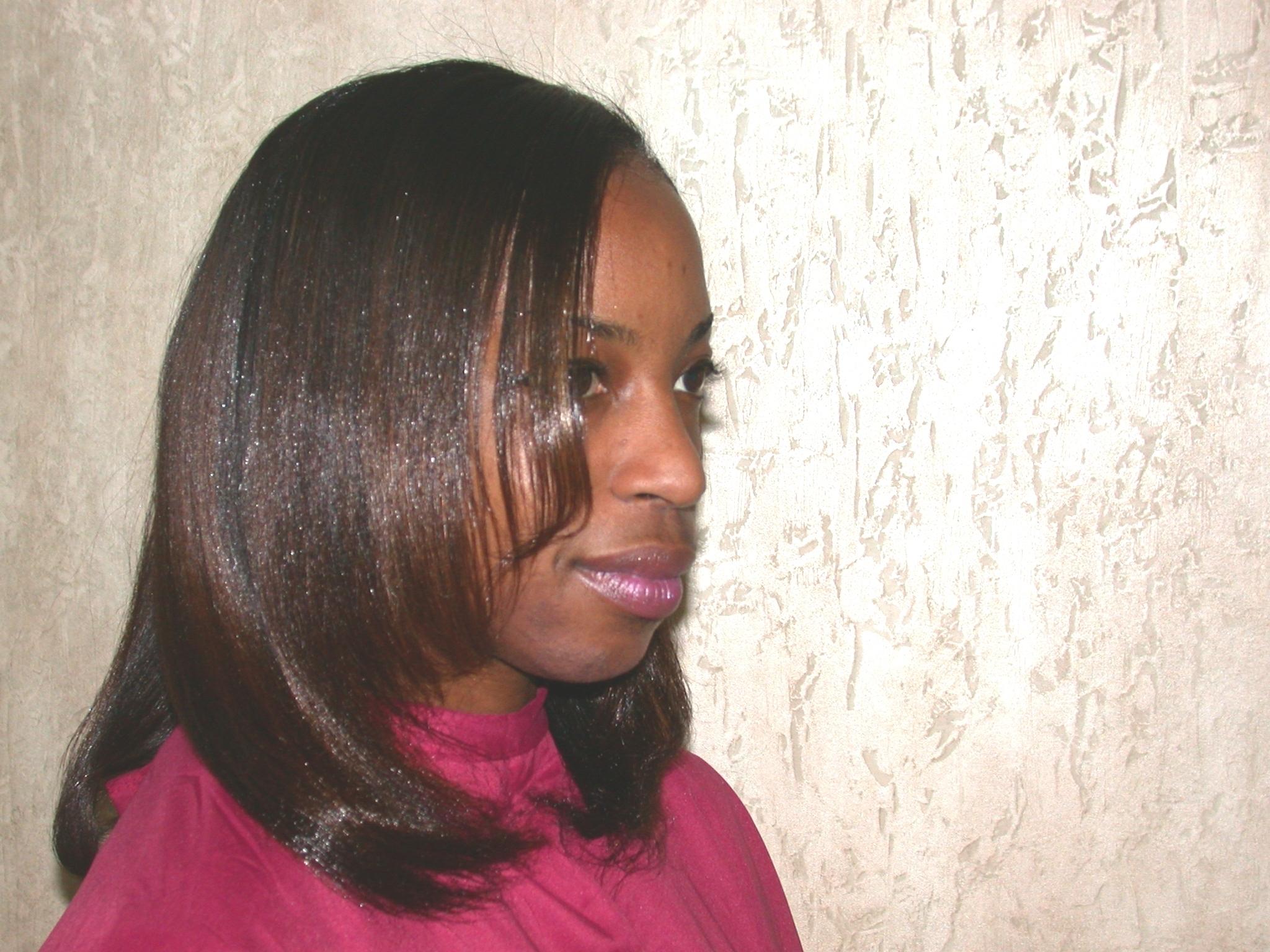 Gentle Natural Hair Relaxer