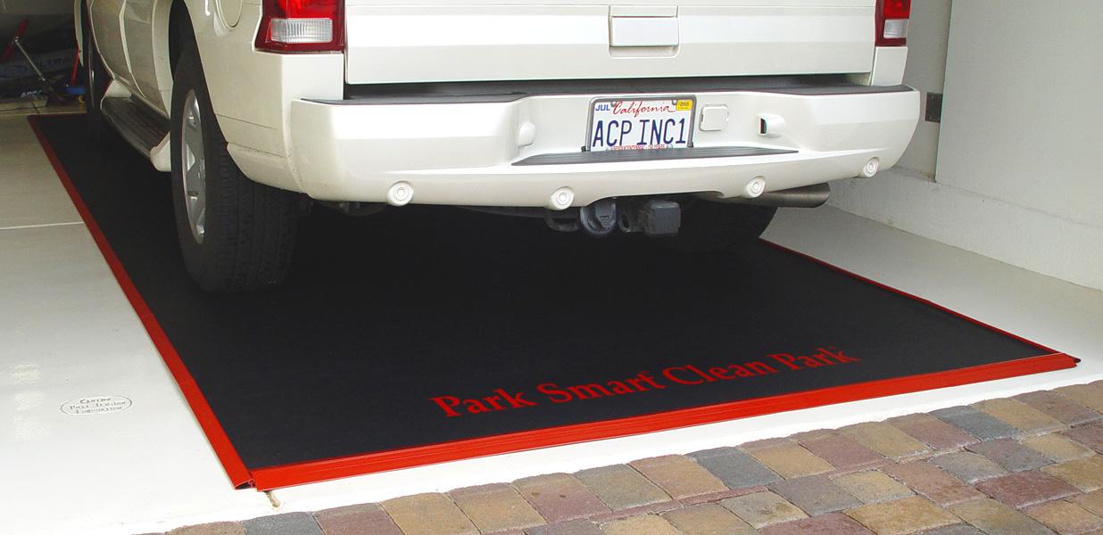 Garage floor car parking mats gurus floor for Garage ww auto