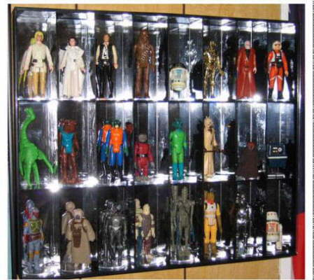 New Display Case Keeps Valuable Action Figures Out Of Harm