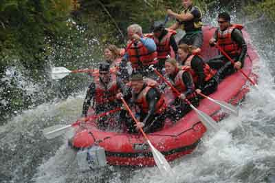 Maine Whitewater Rafting Outfitter Predicts Wild Rides in 2005