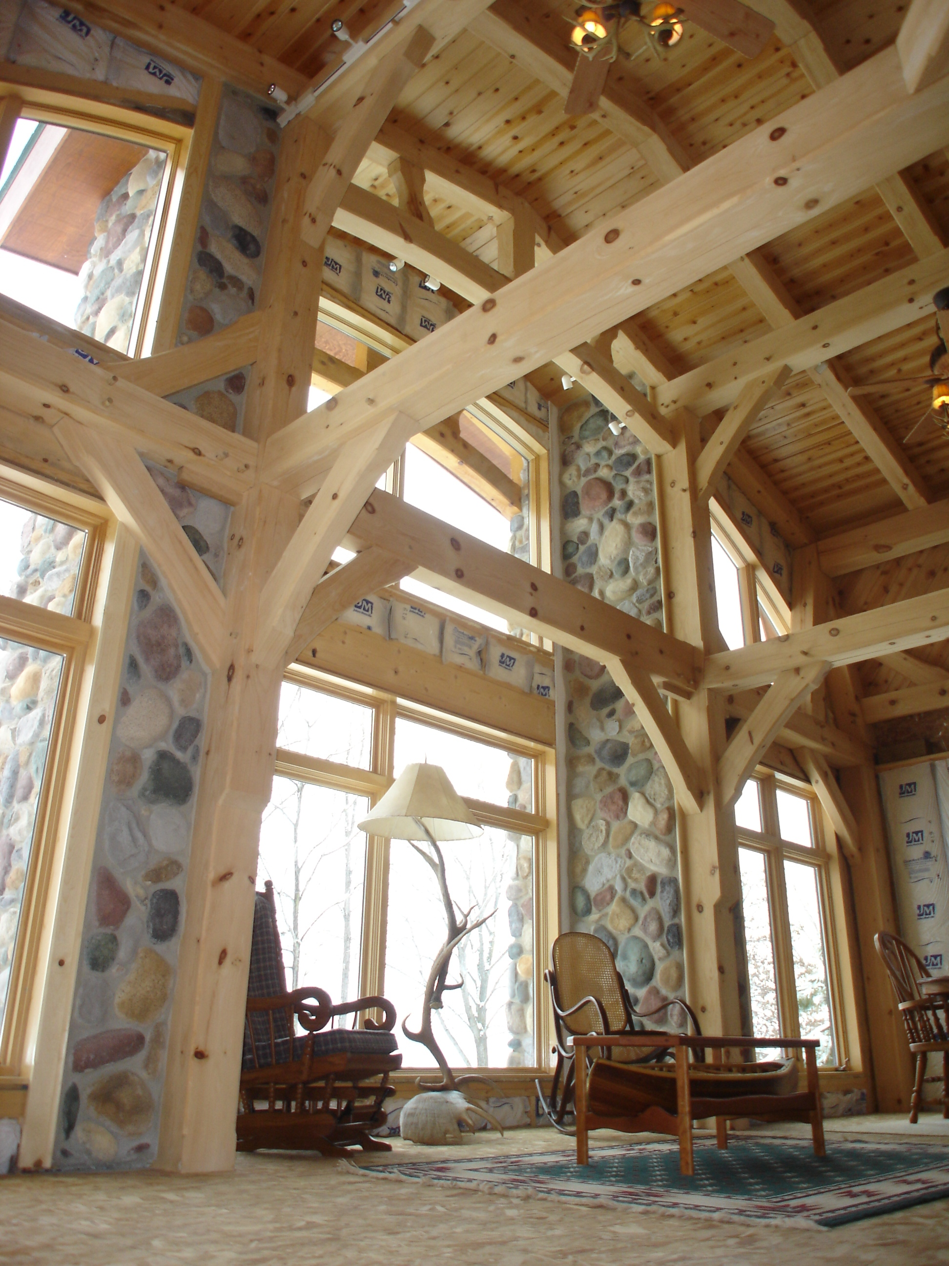 North Woods Timber Frames Builder Of Handcrafted Timber