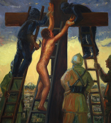 Iraq War Stations Of The Cross To Go On View In L A