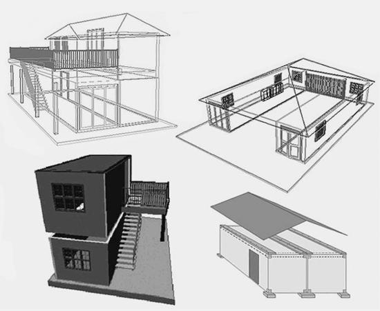 Ocean going shipping containers make waves as alternative for Steel container home plans