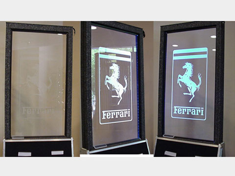 Glass Etching Company Uses Leds To Brighten Up Custom