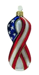 Flag Suppor Our Troops Ribbon