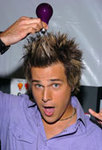 Ryan Cabrera getting crazy with Mood-lites!