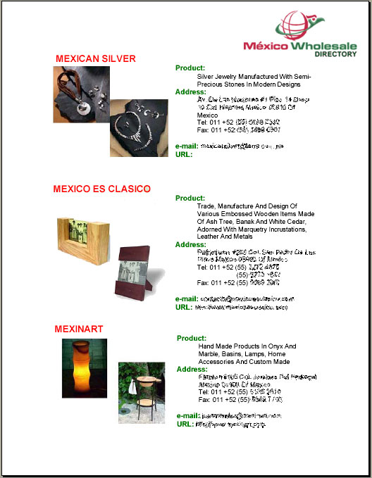 Mexican Wholesale Directory Drives up Profits for Retailers