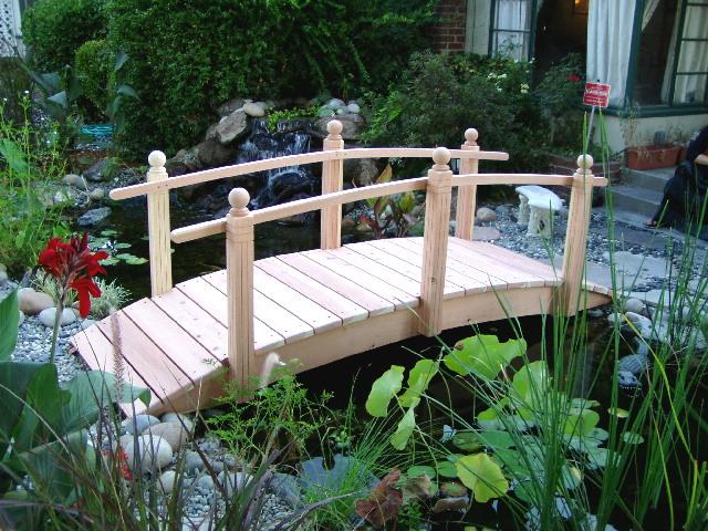 Custom Spindle Bridges Call To Order ! 559 325 2597 Handcrafted Garden  Bridges Offers Quality Handcrafted Garden Bridges For Koi Ponds, Japanese  Water ...