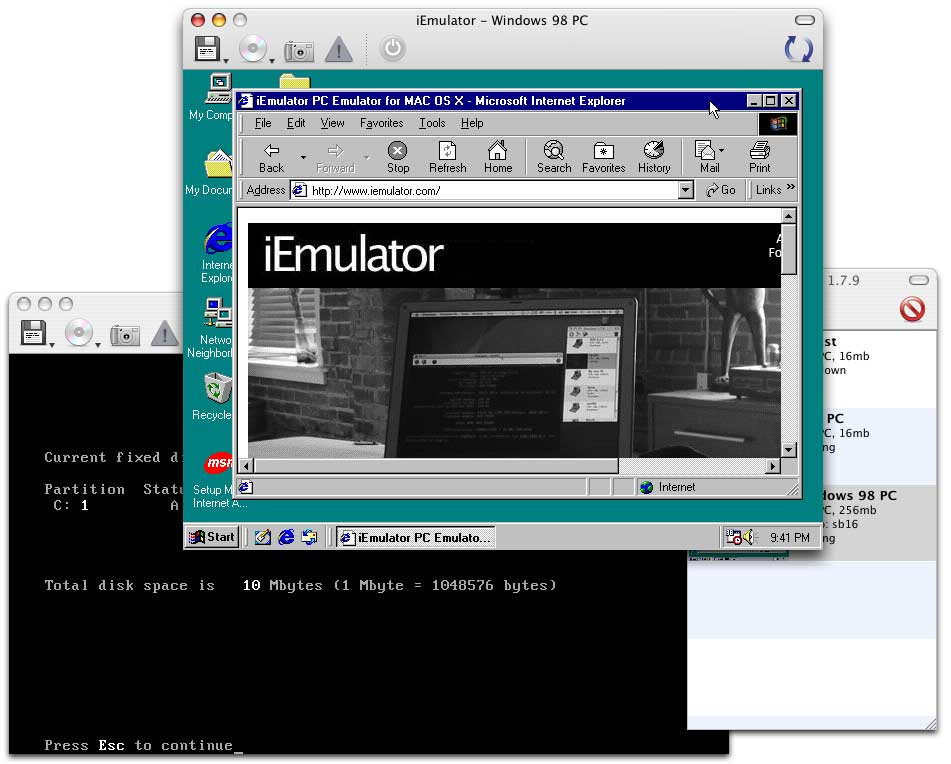 mac os 9 emulator for pc