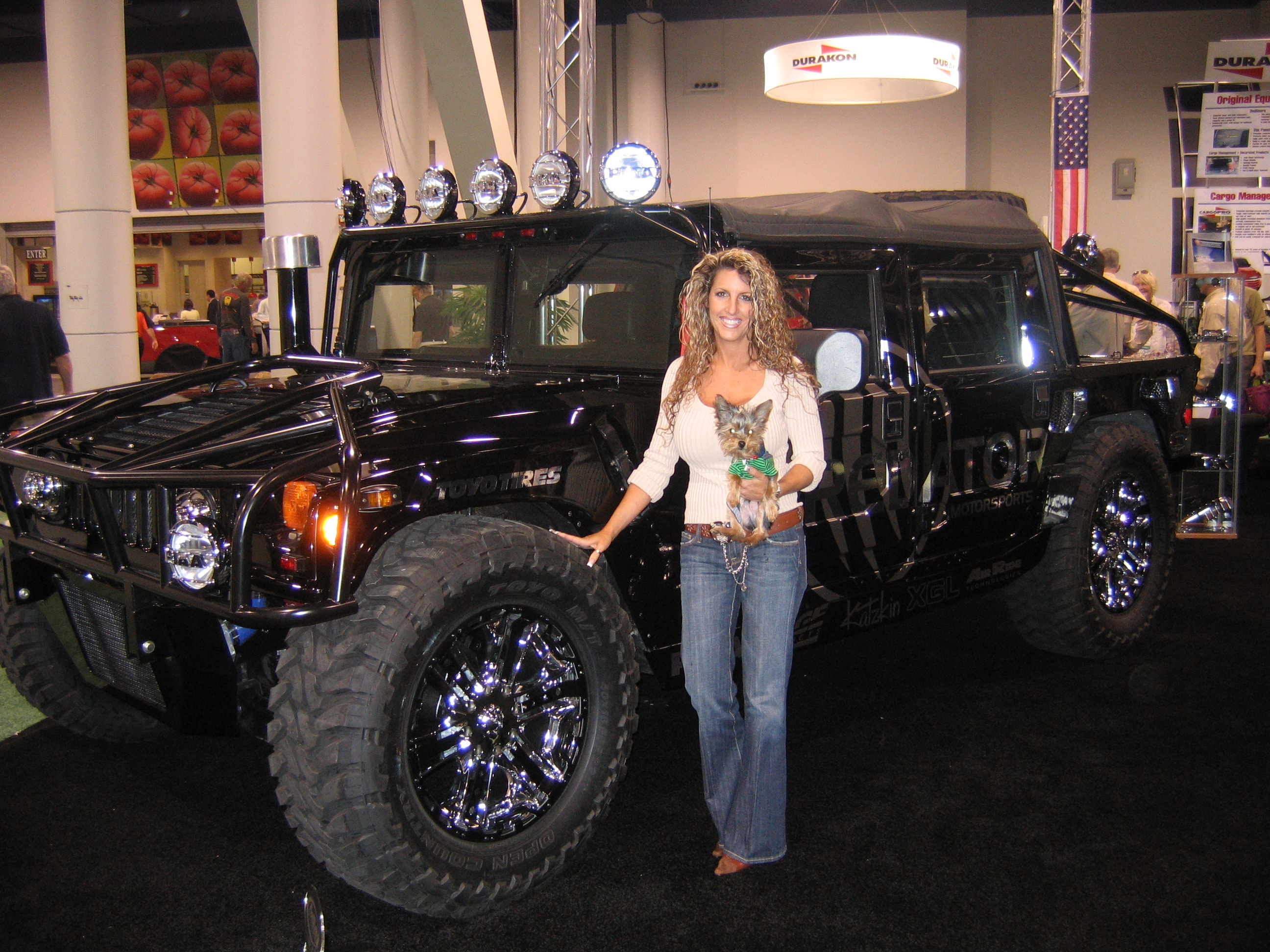 Land Rover Golf Cart >> H2 AND H1 Hummers with the Duramax/Allion were being inspected by GM at the 2005 SEMA show at ...
