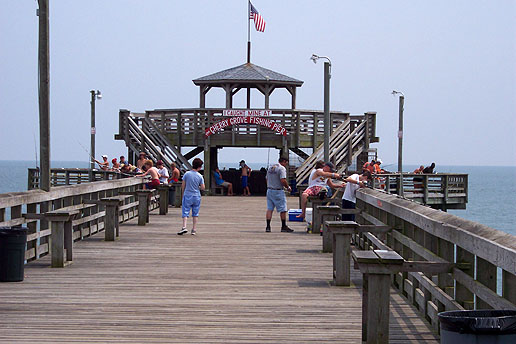 Another Shot Of The Cherry Grove Pierpart Charm North Myrtle Beach