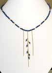 Lapis Cascade Necklace