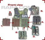 Paintball Vest with Pouches
