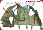 Paintball Vest with Hydration System