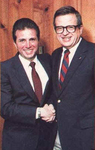 Marty Angelo with Chuck Colson