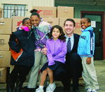 Success University CEO Matt Morris and Feed The Children Kids