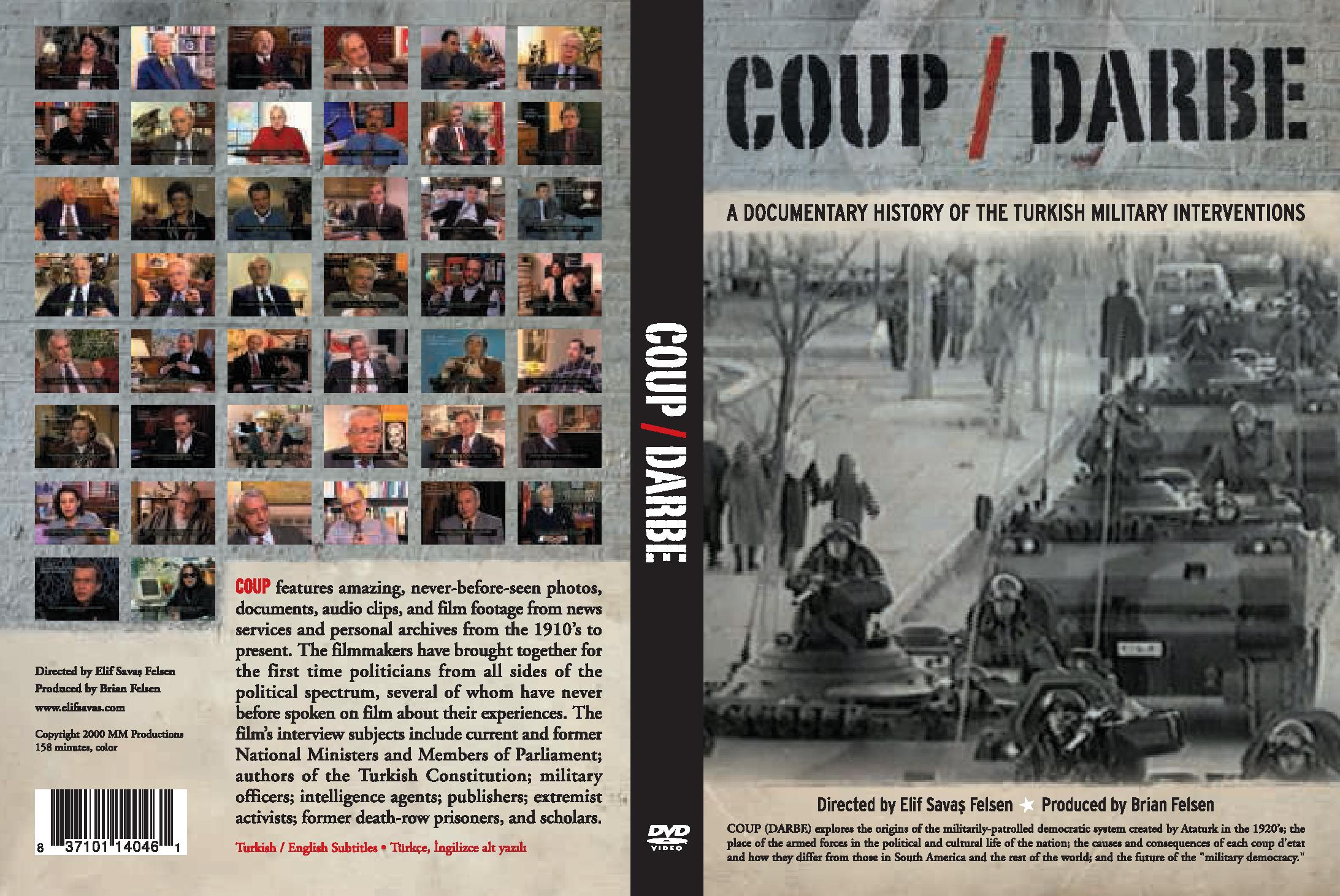 Film COUP About The Turkish Military Coups Released On DVD