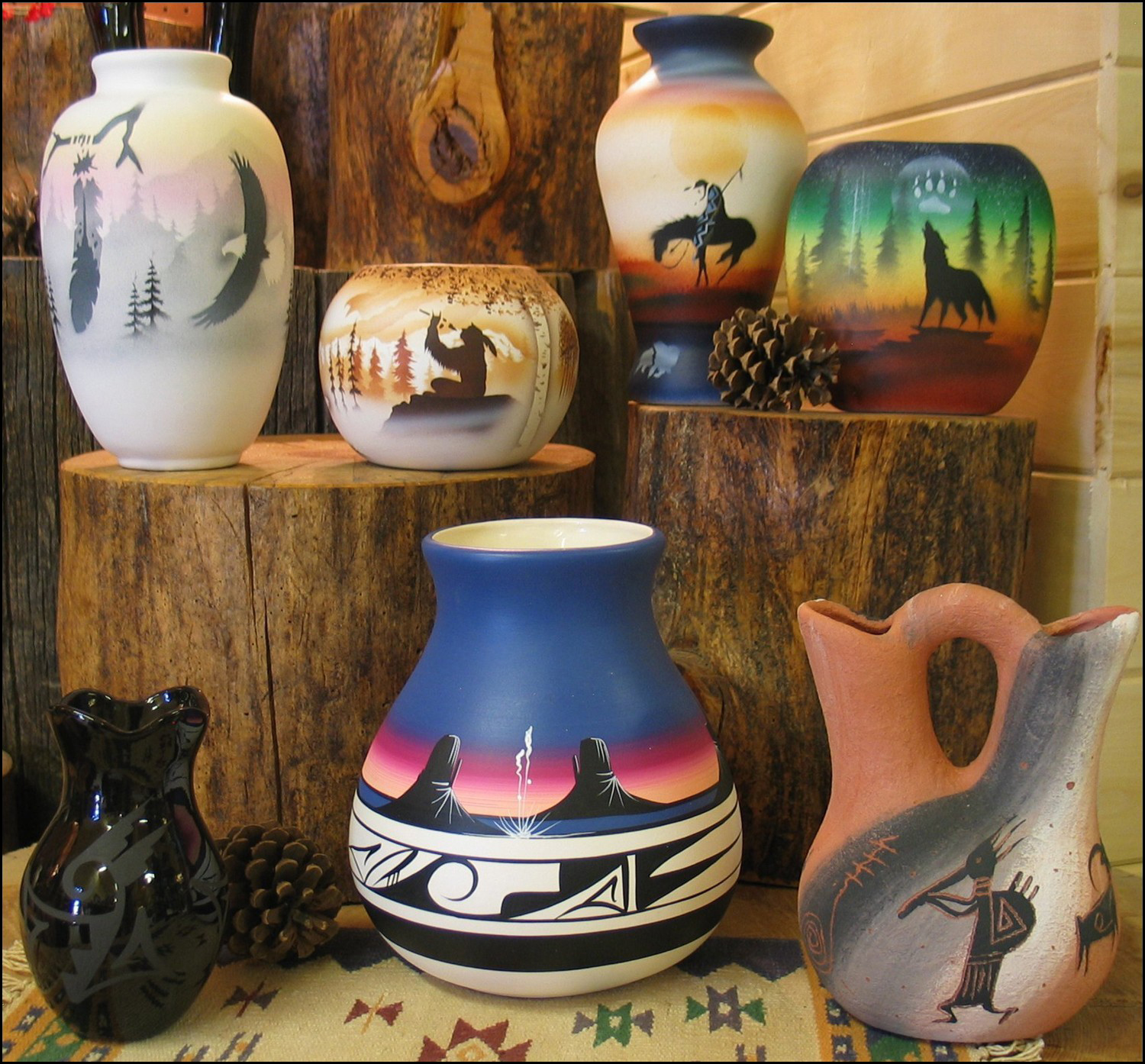 The Best San Diego Home Gift Boutiques: Native American Pottery Has Appeal Worldwide