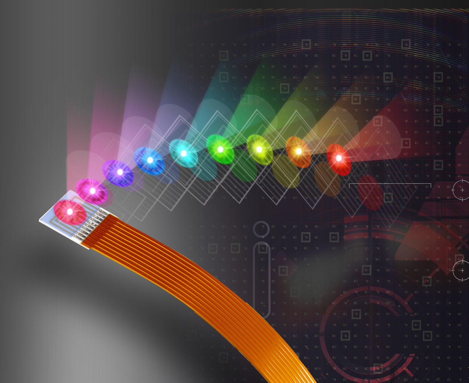 New Opto Technology Led Module Offers Nine Colors Of Light