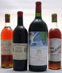 Our May 2006 auction includes selections from a prestigious Parisian Collector including legendary bottles of 1929 Chateau Cheval Blanc, 1947 Chateaux Climens and La Tour Blanche, and a magnum of 1982 Chateau Mouton-Rothschild.