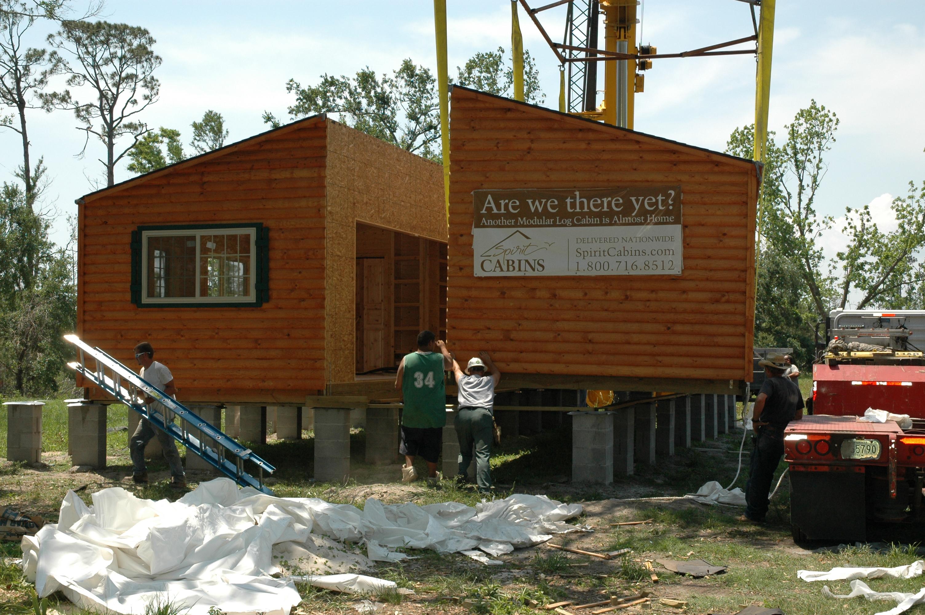 Affordable Modular Log Cabin Homes Now Delivered Fully