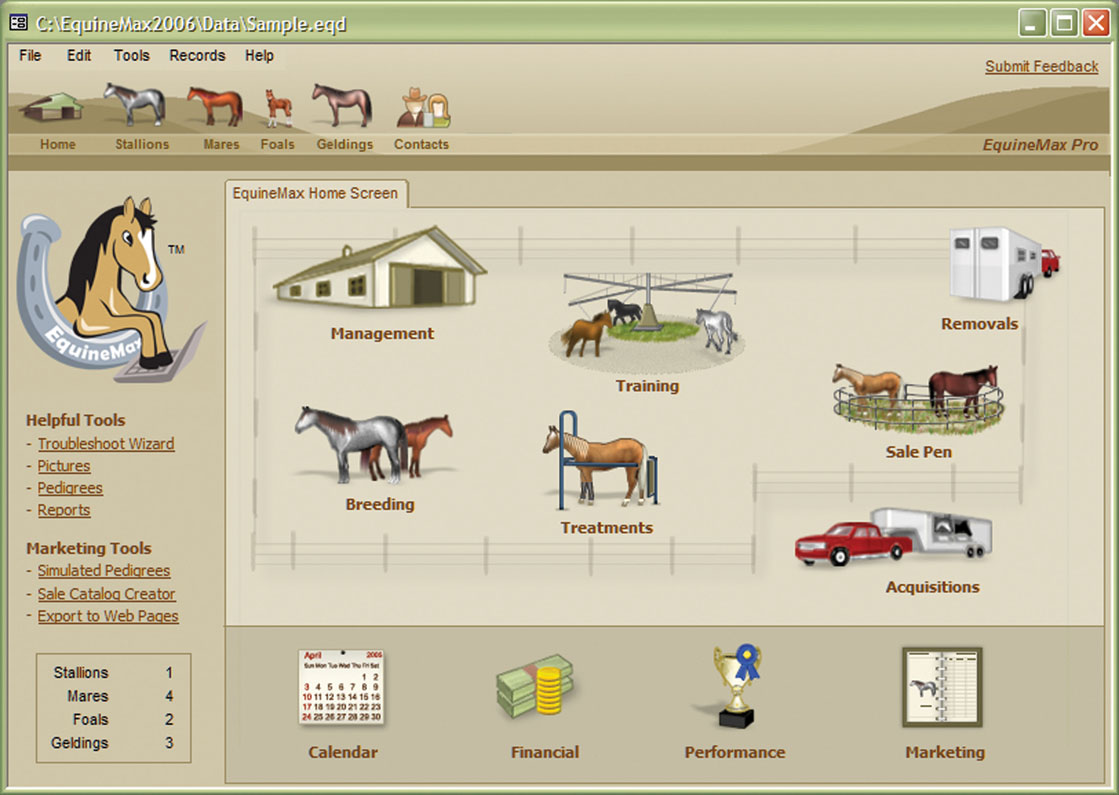 Horse Owners Stay Organized with New Equine Record Keeping Software
