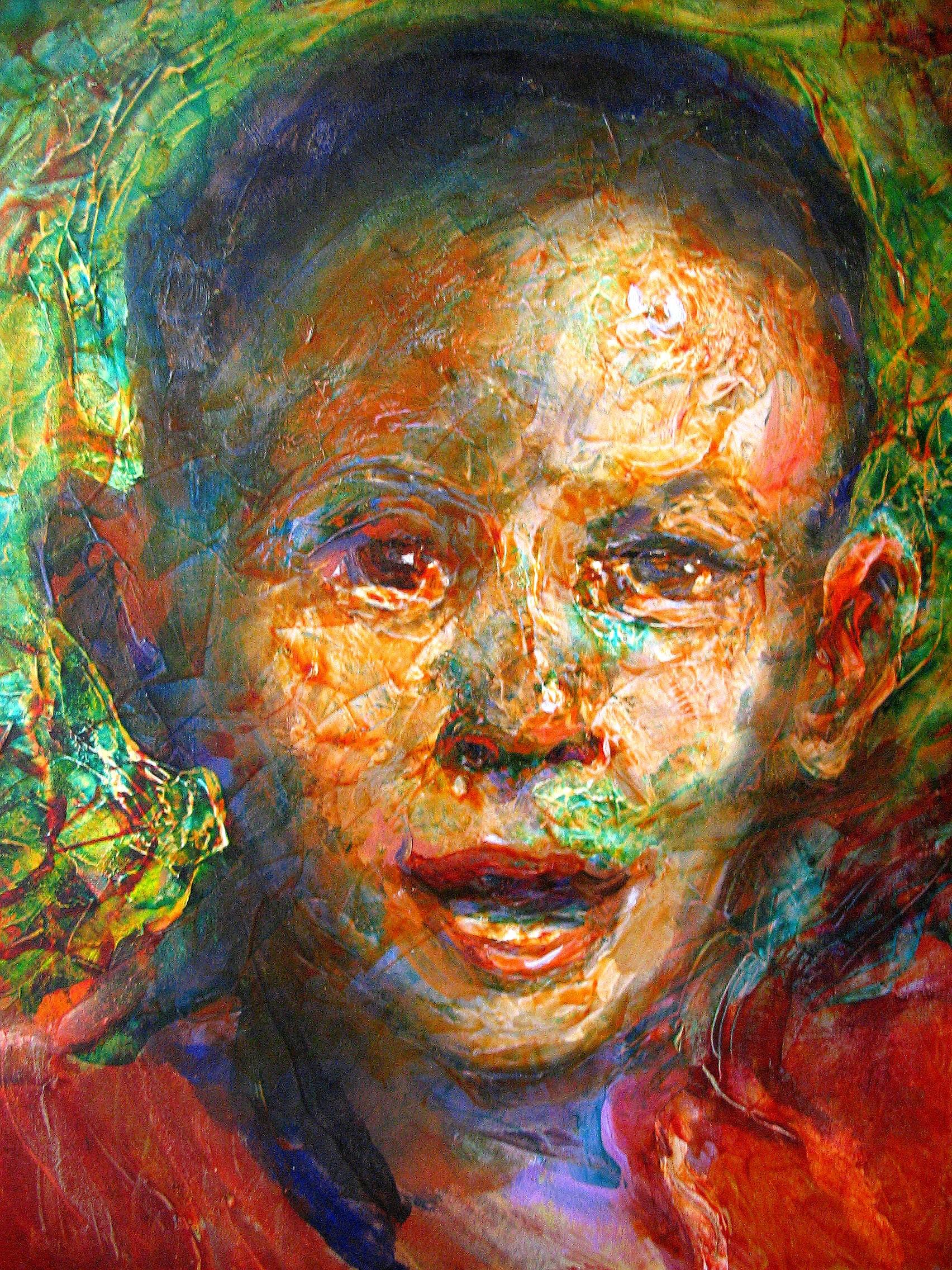 Art Exhibit Features Portraits of Missing Children by Artist John Paul Thornton