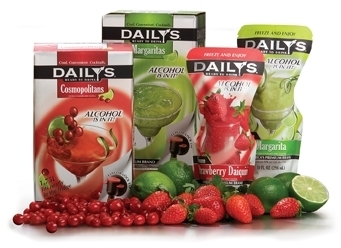 Daily S Ready To Drink Fruit Mixersfor Chilled Tails The 1 75l Bag In Box Package Is Available Four Flavors Margarita Cosmopolitan Letini And