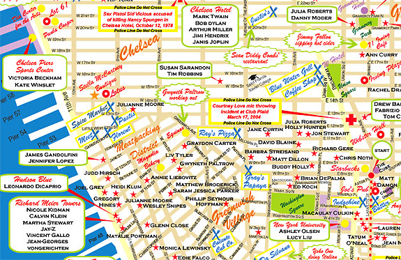 New York Star Maps Provide Solace For Sopranos Fans