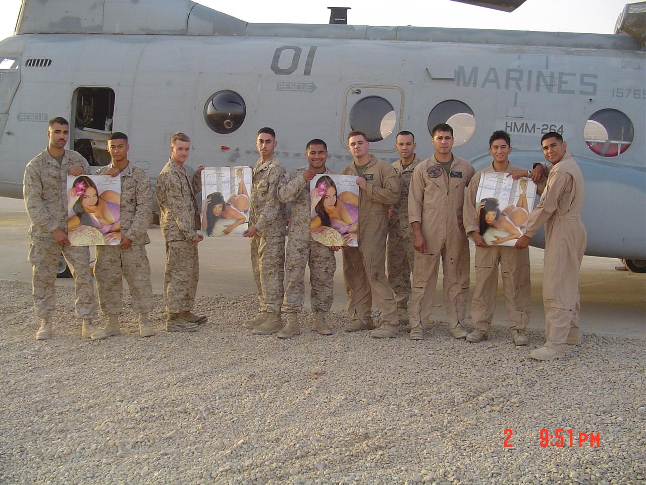 Hot sexy marines