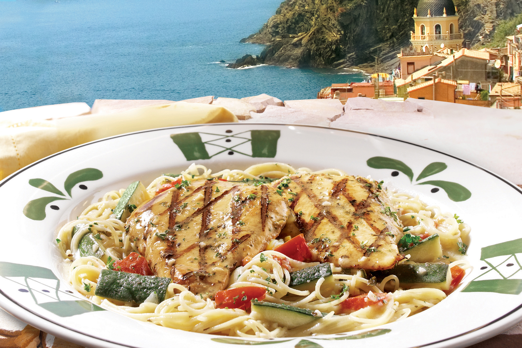 Menu For Olive Garden: Olive Garden Grills Up Summertime Dishes