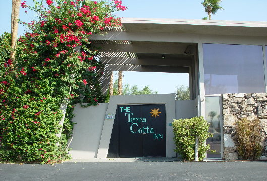 The Historic Terra Cotta Inn of Palm Springs, CA designed by famous architect Albert Frey