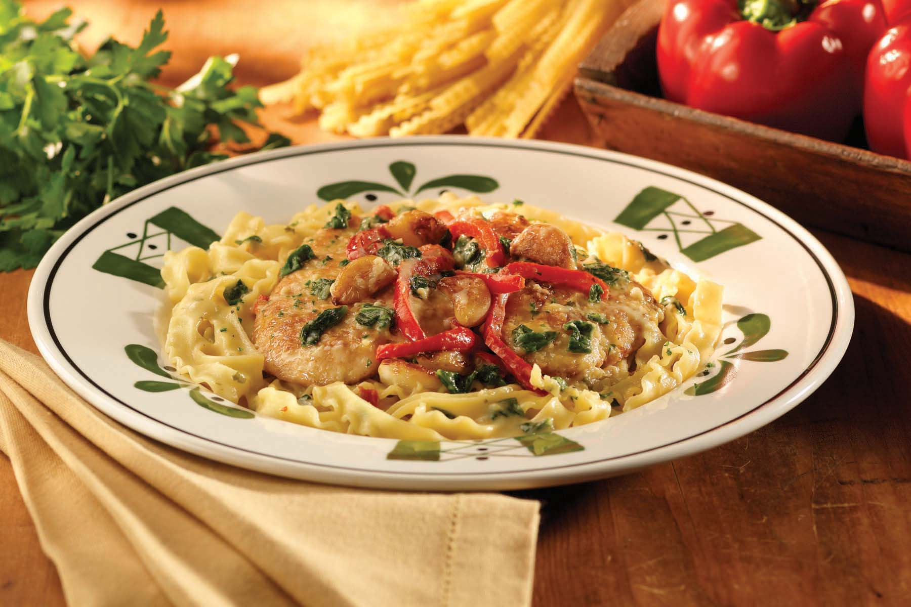 Olive Garden Menu Pdf: Quintessential Italian Cuisine, Such As Risotto And