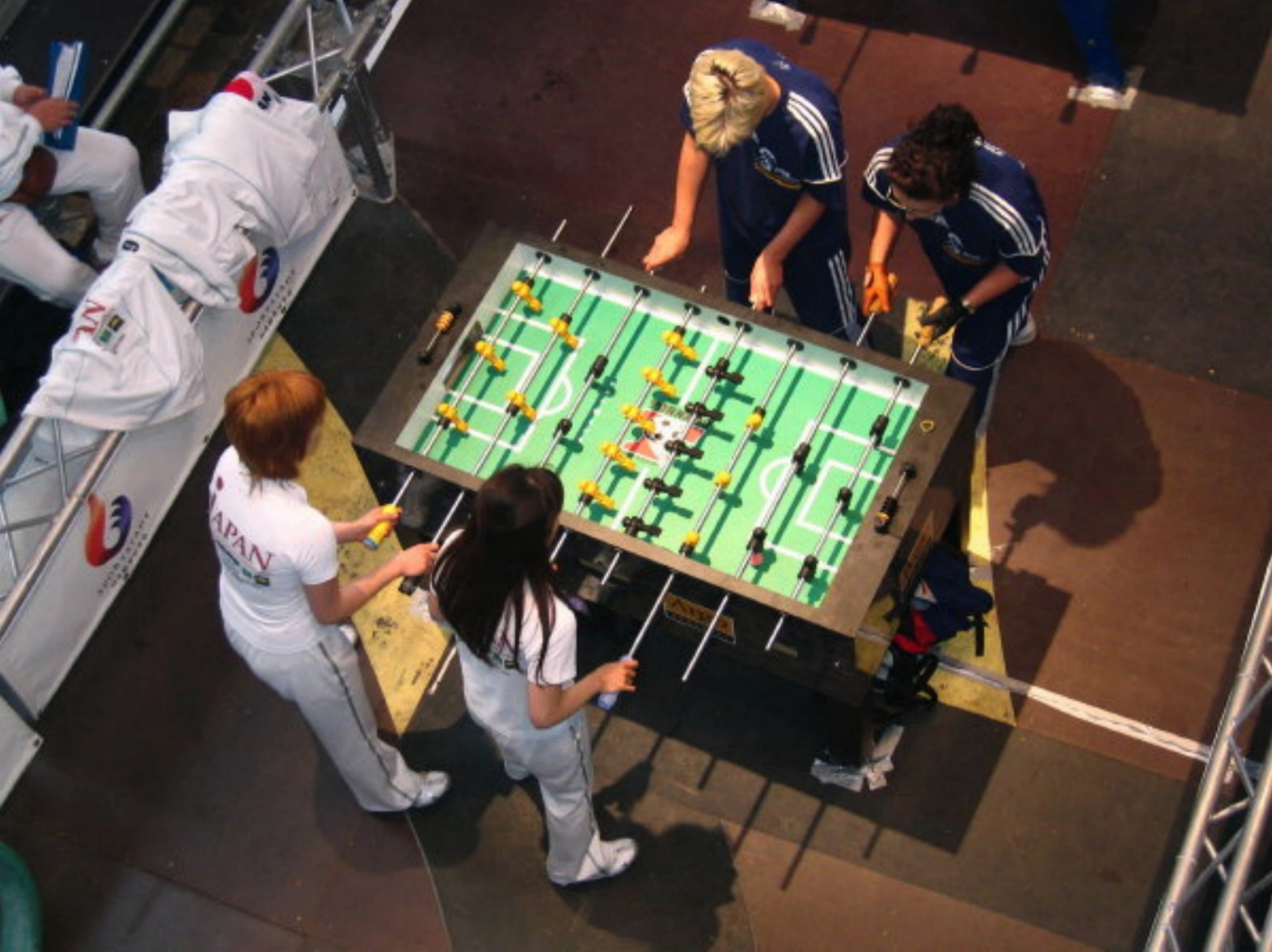 Table Soccer Sees Significant Worldwide Growth World Cup Of - Tournament soccer foosball table