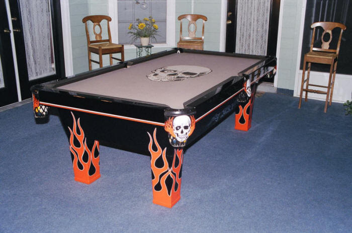 EXtreme Custom Billiards Signs Marketinghelpnetcom To Manage - American pool table company