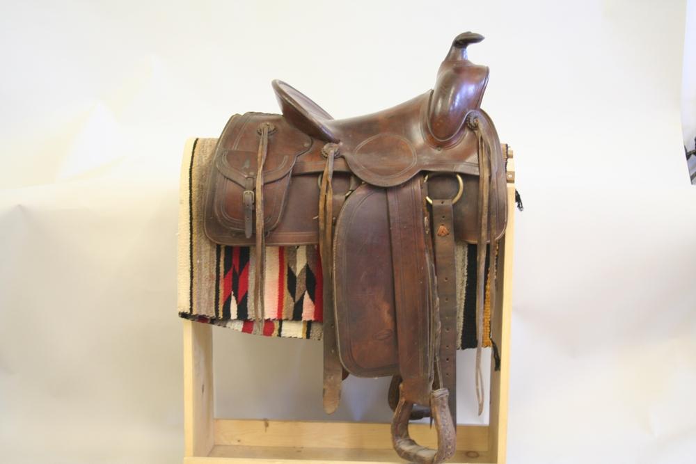 King Ranch Saddle Pancho Villa Photos Rare Pinched Frame Colt 45