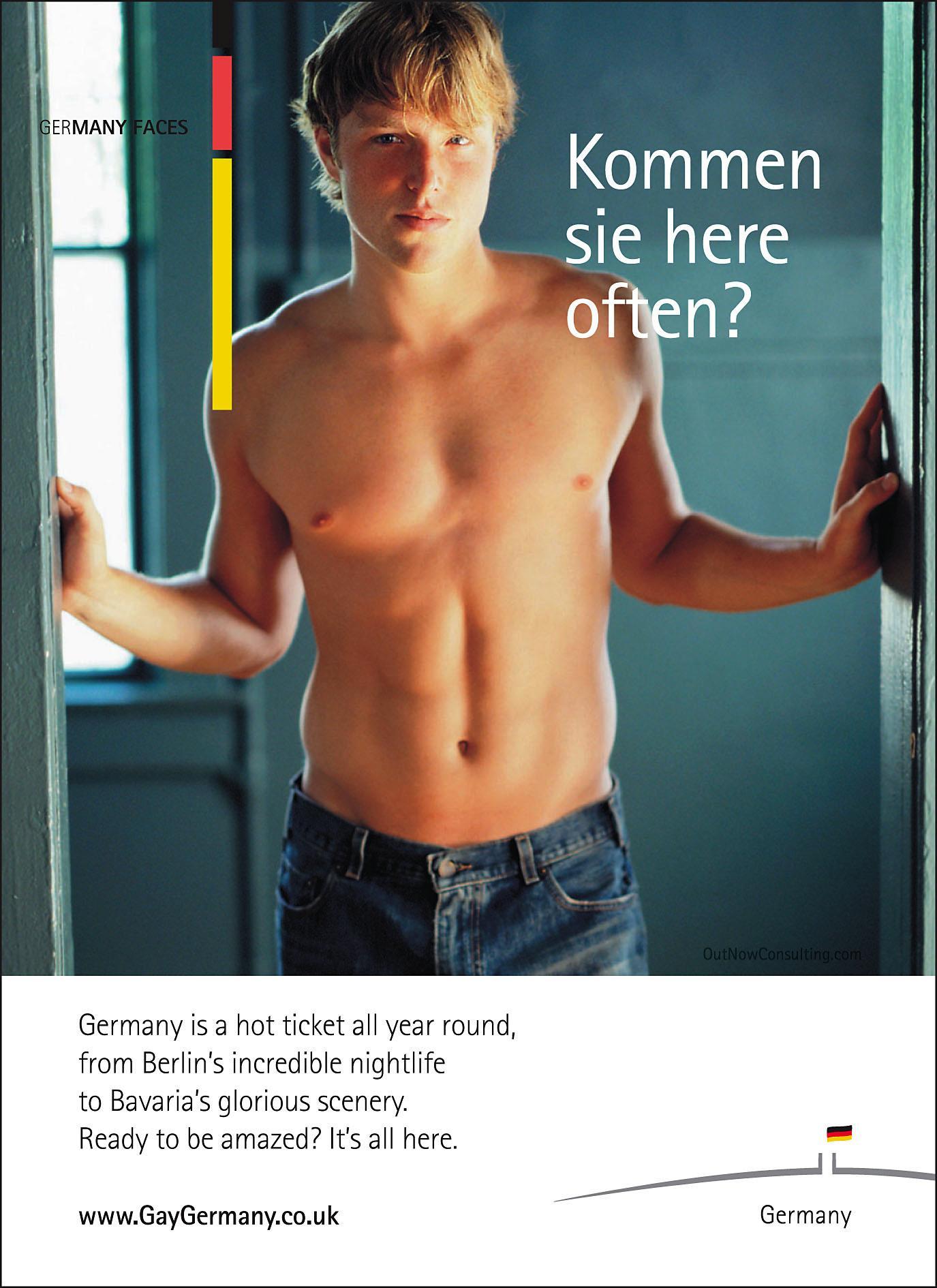 Gay Advertising -- Time Magazine Says Same Sex Sells