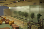 Custom Water Wall Feature - WebMD Corporate Headquarters, New York, New York