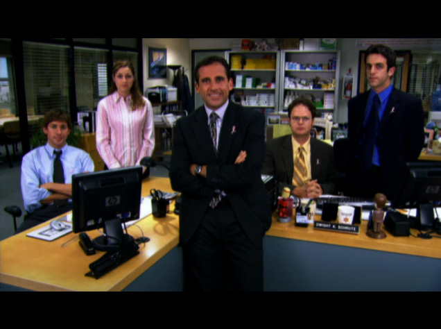 Nbc S The Office Cast Goes Casual To Help In The Fight